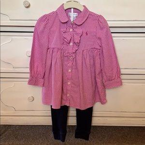 Ralph Lauren Pink Gingham Outfit
